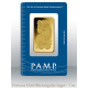 1 oz gold bar - PAMP Suisse Lady Fortuna minted 99.99%