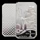 1 oz silver bar - Trident .999